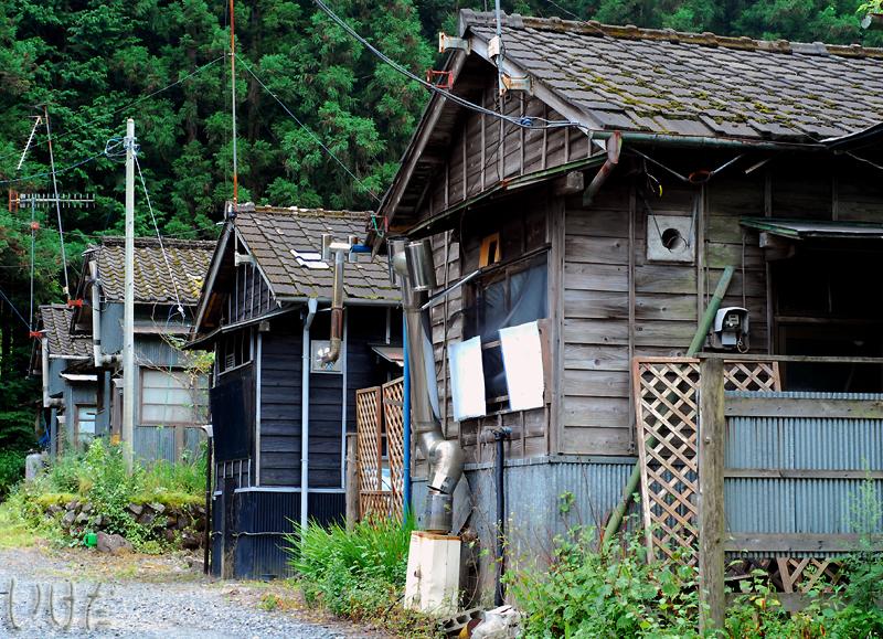 old houses in nikko